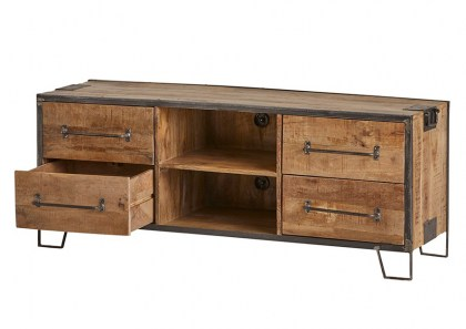tv-dressoir-150-met-4-lades-en-2-open-vakken-angles-collection-1