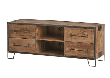 tv-dressoir-150-met-4-lades-en-2-open-vakken-angles-collection